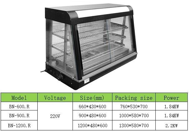 Bn-600 r Table Top Food Warmer Display Case/hoot Food Display Cabinet - Buy  Food Warmer Display Cabinet,Food Warmer Display Case,Table Top Food Warmer