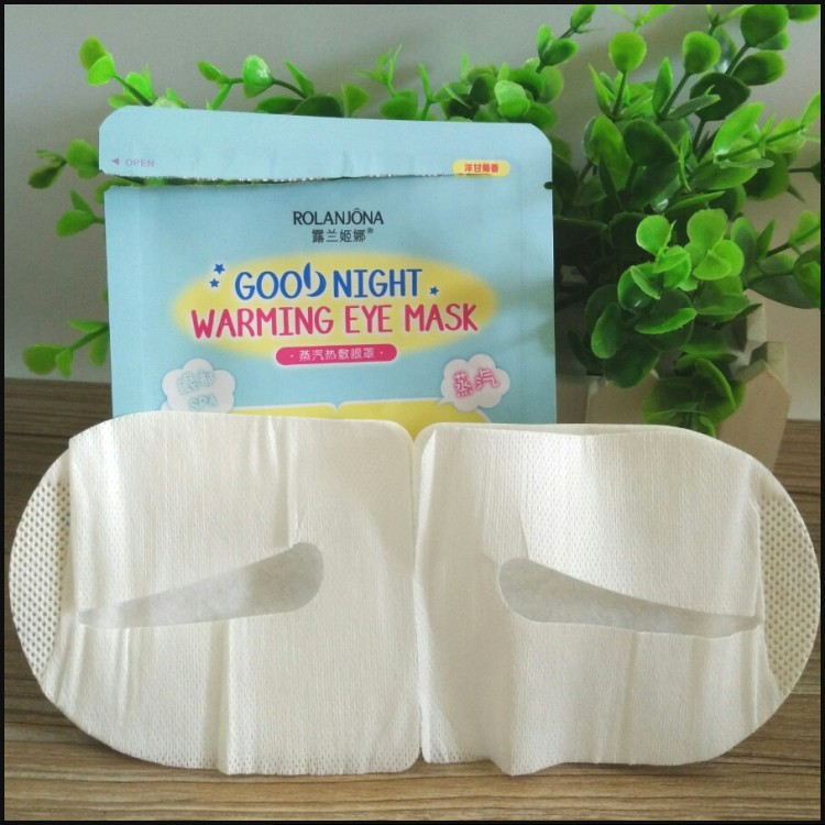 A3508 7pairs/box steam eyes mask hot compress warming eye patch Lavender/Chamomile anti-dark circle puffiness relieve fatigue