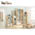 ZKL064 Eco-friendly Simple Design Display Wooden Wall Shelf Rack Shelf