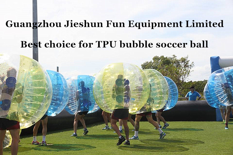 TPU bubble soccer ball