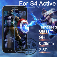 0.26mm 9H Explosion Proof Anti scratch LCD Tempered Glass Film For Samsung Galaxy S4 Active i9295 Screen Protector
