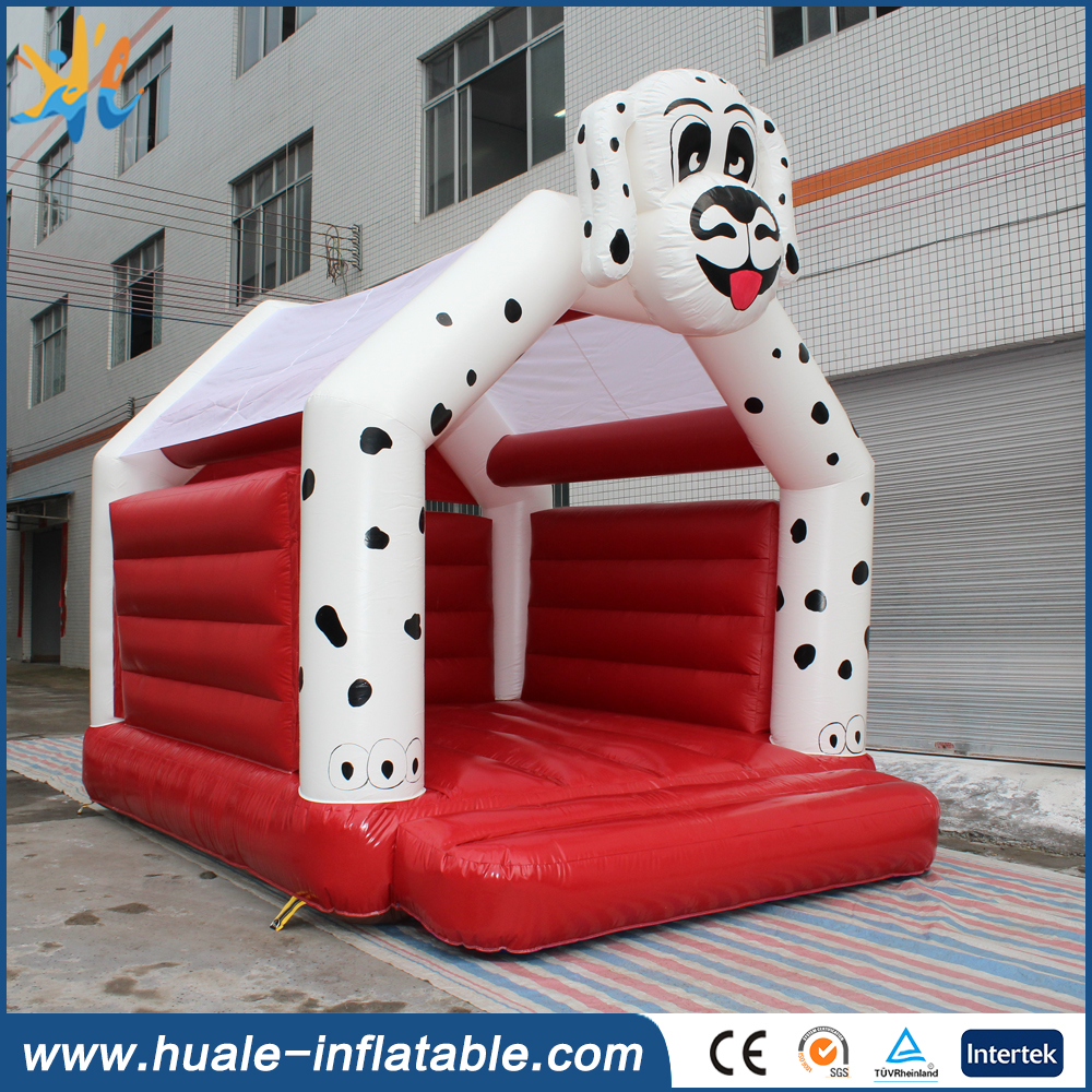 Puppy inflatable dog bouncer for amusement park