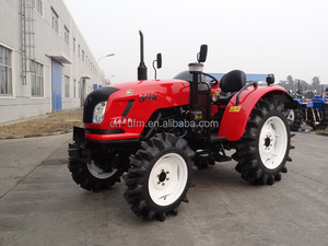 China low price 4x4 mini mahindra farm tractor 504 with front loader