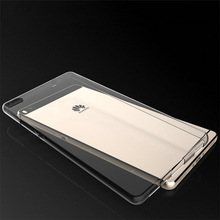 Huawei P8 Lite Silicon Clear Case High Quality Protector TPU Back Cover For Huawei P 8 Lite Mobile Phone Protective Accessories