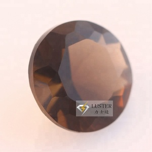 Round Cut Glass Gem Stones, Tea Crystal Quartz Glass Stones