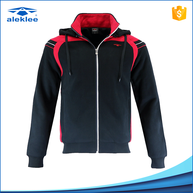 Custom Design Comfortable Hot Sales 65%cotton 35% polyester Wholesale Plain Zip Hoodies