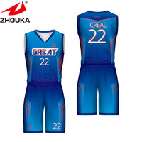 2019 Wholesale Best Blank Sublimated womens cheap youth basketball uniforms Basketball Jersey tracksuits sport