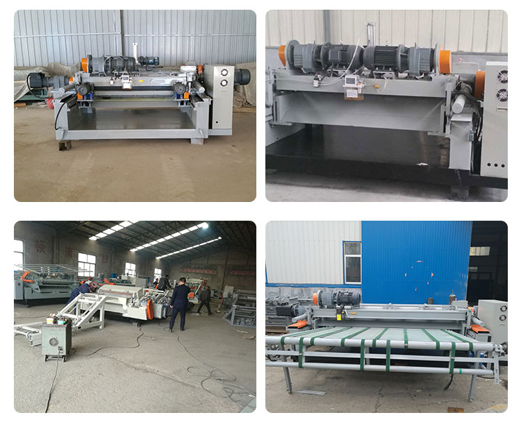 CNC spindless Log impiallacciatura peeling macchina