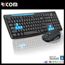 Ricom 2.4ghz wireless keyboard and mouse for Gaming,gaming keyboard mouse,gaming mouse and keyboard LKM614 Shenzhen Ricom