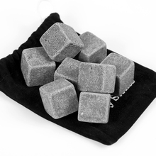 Eco friendly grey reusable round natural magic cocktail customized wholesale soapstone whiskey stones