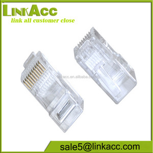 LKCL349 RJ48 Network Connector 10P10C Modular Plug Ethernet 10 Pin