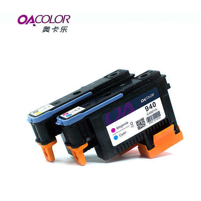OACOLOR Gereviseerde Printkop Voor HP 940 C4900A C4901A Compatibel Voor HP Officejet Pro 8000 8500 Printer