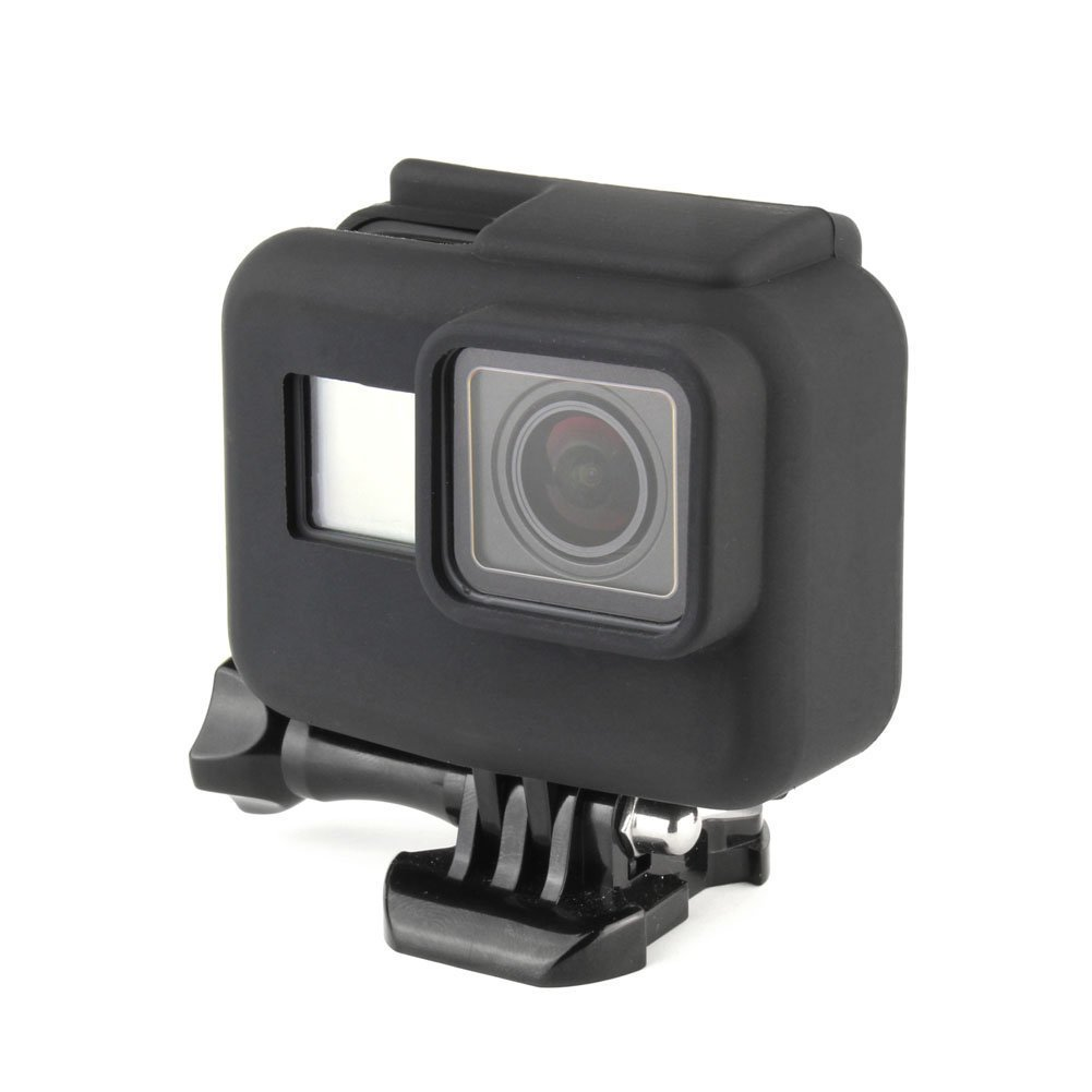 SOONSUN Soft Silicone Protective Rubber Case Cover for GoPro Hero 5/Hero6 Black Edition Frame Housing