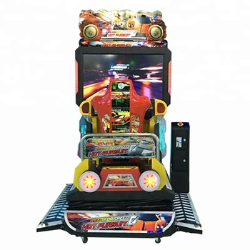 55 inch screen full motion racing car video games dynamic motion simulator 3D simulator arcade machine