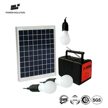 Outdoor Portable Big Power Energy Save Solar Home Lighting System And Camping