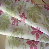 Hotsale 210T Polyester Printed Waterproof Raincoat Fabric