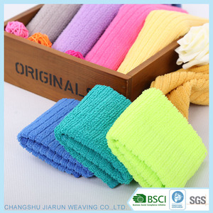 2018 China Jiarun manufacturer BSCI best selling OEM household cleaning product microfiber cleaning cloth for hotels