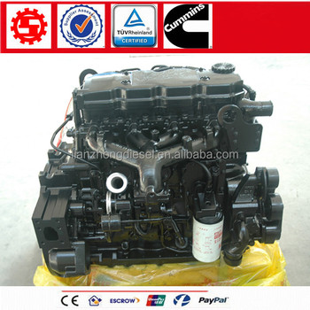 Mins 4 Cylindersel Engineembly For Truck Isd