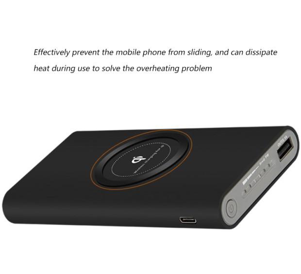 Small and smart portable wireless charger power bank