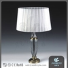 home decration 16 inch european tiffany style luxury crystal table lamp from factory