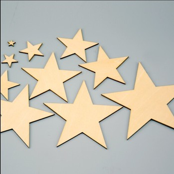 Wood Craftsorted Unfinished Wood Starsdiy Wood Stars Ready To Be Painted Or Drawing Buy Wood Starswood Crafts Starsdiy Wood Stars Product On