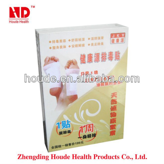 Detox Foot Patches Chinese Herbal Detox Moxibustion