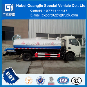 DongFeng 4000L Sewage Suction Tank Truck 3T Waste Water Sucking Truck 4CBM Sewage Suction Vehicle