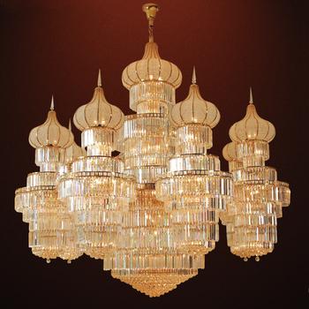 Crystal custom made mosque big chandeliers buy mosque big crystal custom made mosque big chandeliers aloadofball Image collections