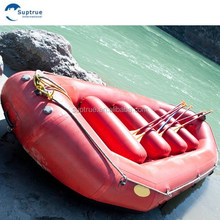 New technology CE Certificated 0.9 1.2 PVC Inflatable Rafting Boat hypalon for global market