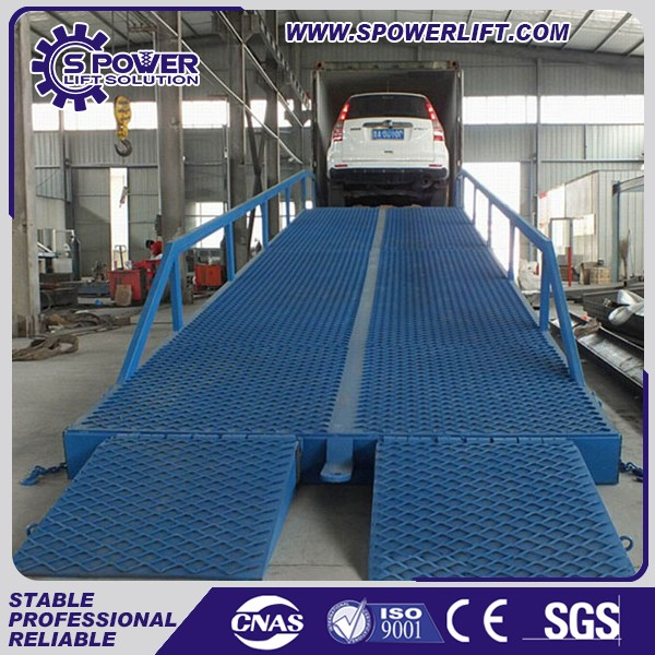 2016 adjustable hydraulic loading dock ramp used container