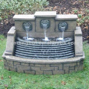 Nachahmung Steine 3 Wasserfall Garten Wand Brunnen Stein - Buy ...