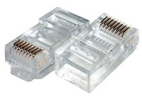 10 pin rj45 connector, different connector rj45 for cat6 cable, 10 pin connector cat7 rj45 plug