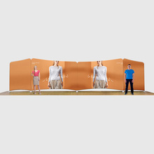 3X3 Aluminium Standar Display Pameran Shell <span class=keywords><strong>Skema</strong></span> Booth/Trade Show Booth/Custom Made Adil <span class=keywords><strong>Desain</strong></span> Booth