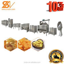 automatic small scale potato chips production line/machinery