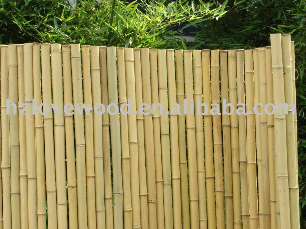 Cercas de bamb jard n vallado enrejado y puertas - Cercas para jardin ...