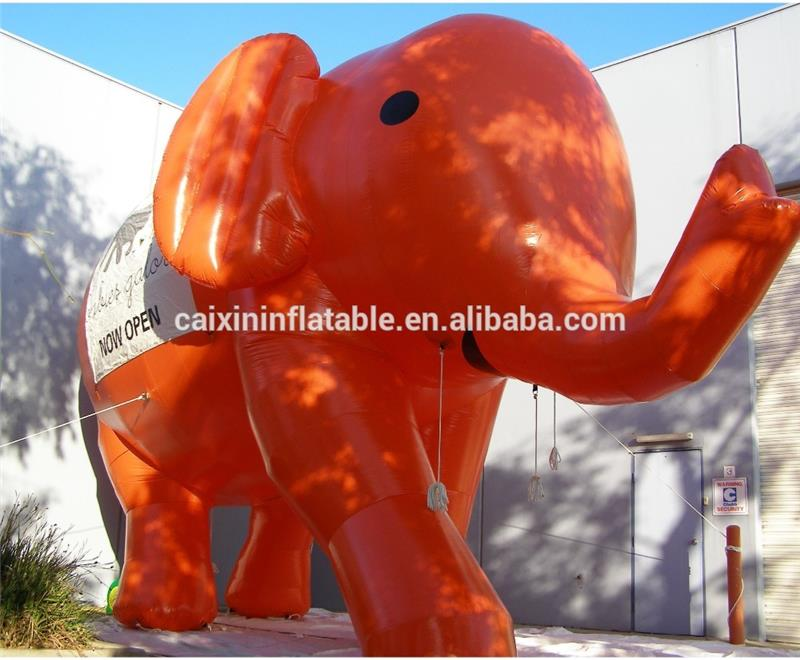 pink animal elephant inflatable cartoon,Inflatable animal blow up cartoon