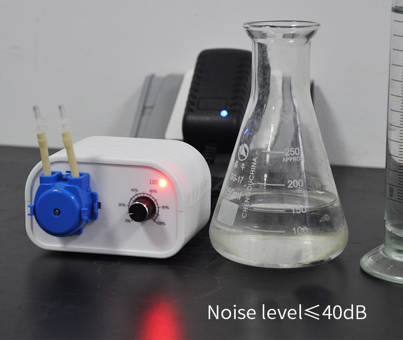 Kamoer NKCP peristaltic pump mini dosing pump 24V microdispensing filling machine adjustable flow
