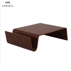 Smart Bend Wood Integrated Molding Couch Table