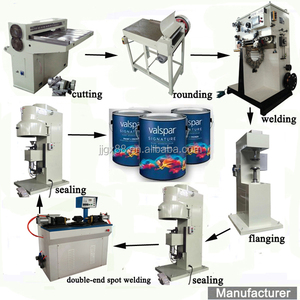 1-5L Round Paint Tin Can Making Machine,Round Tin Can Production Line
