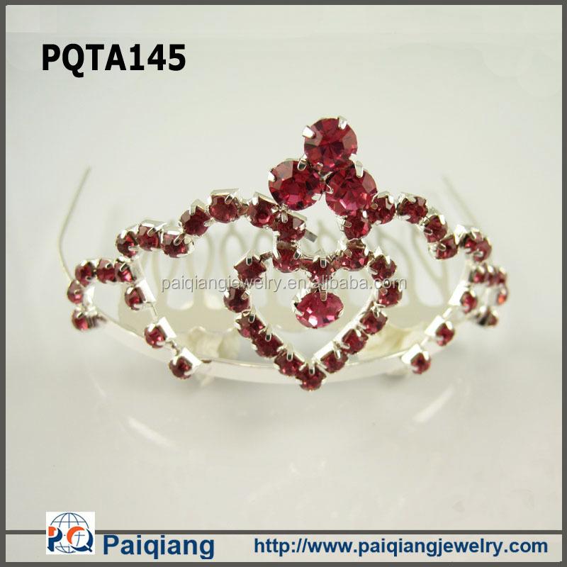 Perak Berlian Imitasi Kupu Kupu Raja Mahkota Dekorasi