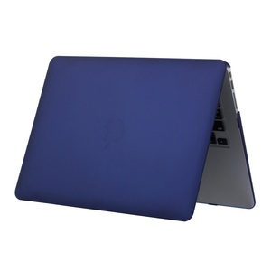 For 2018 New Navy Blue Color Macbook Air Case 13 Inch Rubber Frosted Cover Case