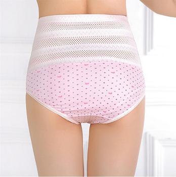 db4b5ffdd54 High Quality Women s High Waist Panties Postpartum Maternal Intimates  Abdomen Underwear Tummy Control Body Shaper Knickers