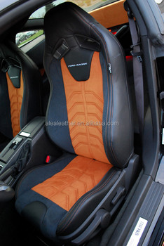 Customized Pattern Italian Leather Car Seat Cover For Ford Mustang ...