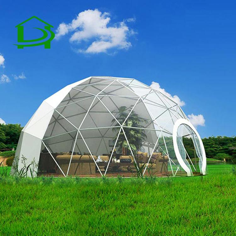 Водонепроницаемый сопротивление ветра Япония Дом ПВХ событие партия купольная палатка сделанная на заказ
