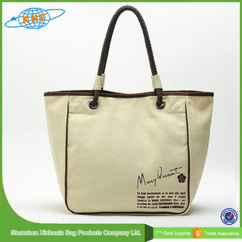 2016 Promotion Environment Shopping Canvas Tote Bag