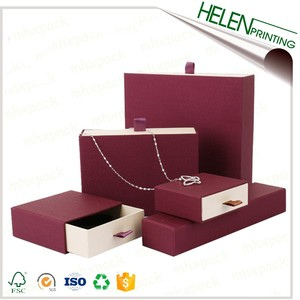 Custom Logo Printed Jewelry Gift Boxes and Bags