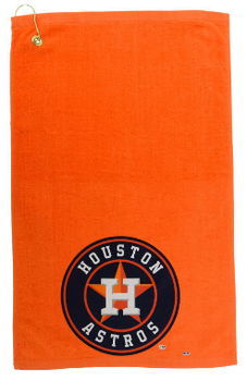 80%polyester 20% polyamide waft golf sports microfiber towel with embroidery logo