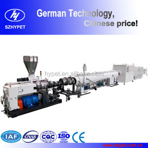 Plastic machinery German design 20-110mm PVC pipe production stream line