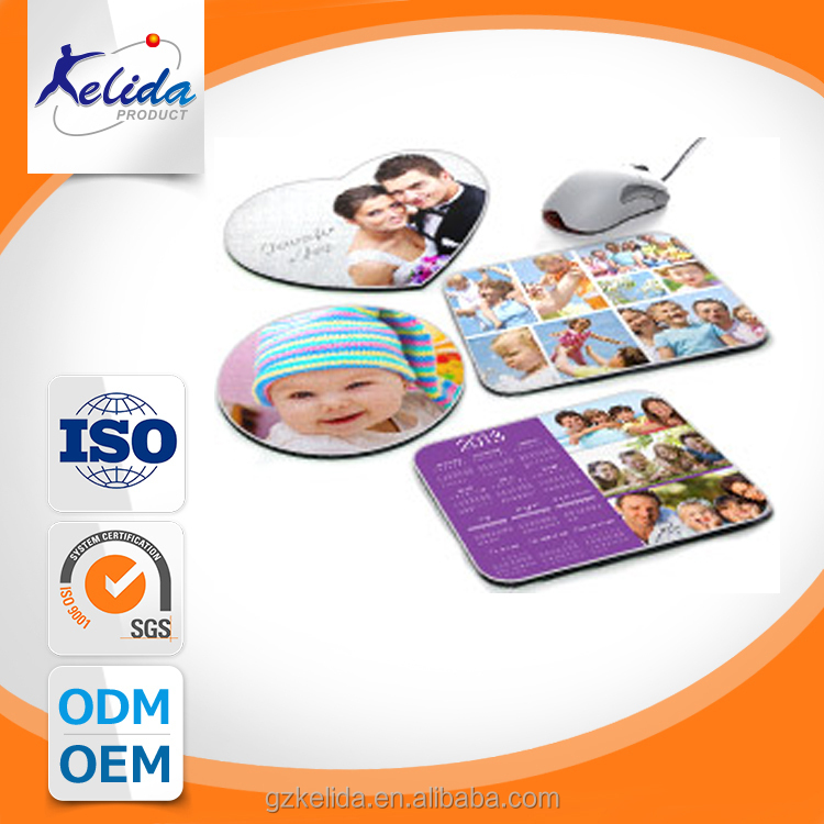 2018 calendar rubber mouse pad , with OEM Design