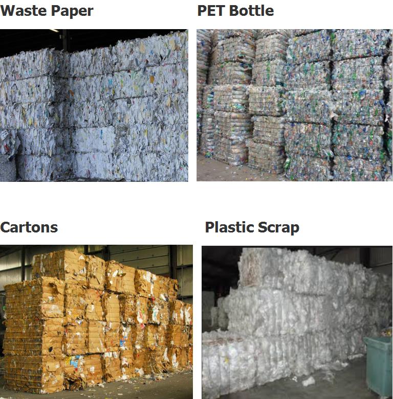 Horizontal Cardboard Baler/Automatic Plastic Bottle Baler/PET Bottle Baling Machine